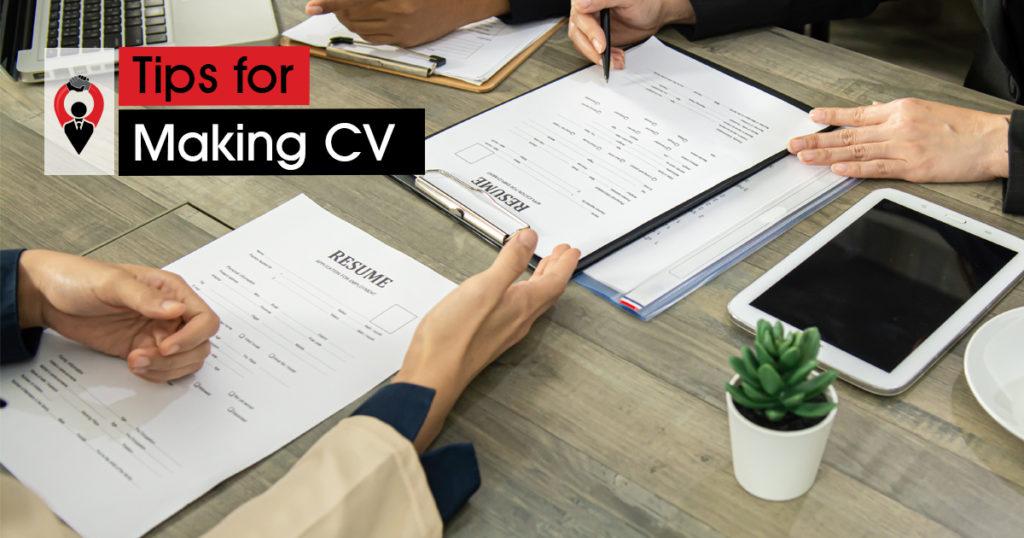Tips For Making CV