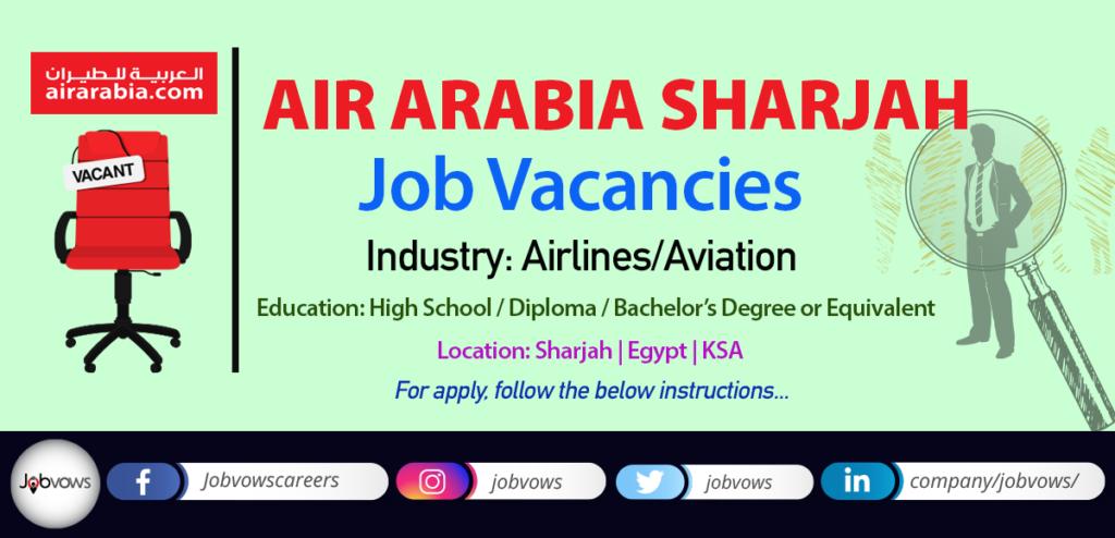 Air Arabia Jobs and Careers 2020
