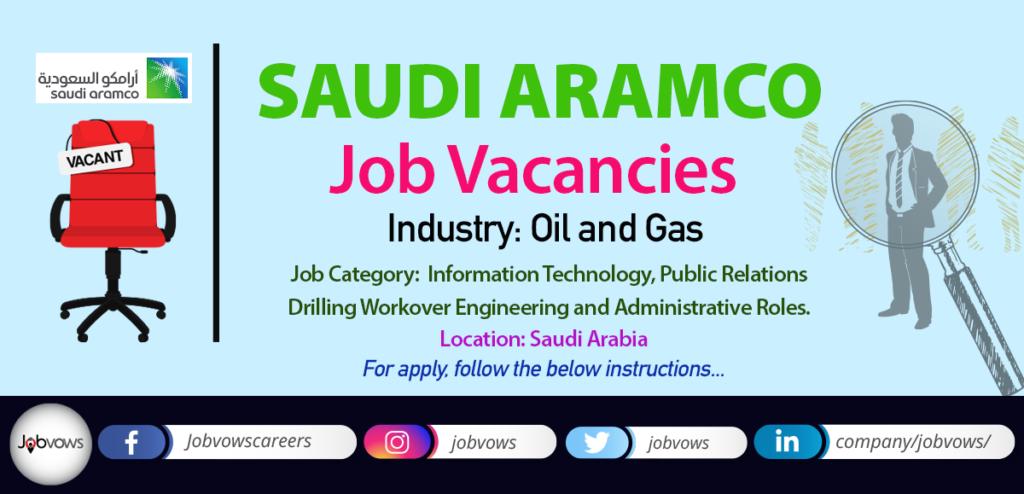 Saudi Aramco Careers and Jobs 2020
