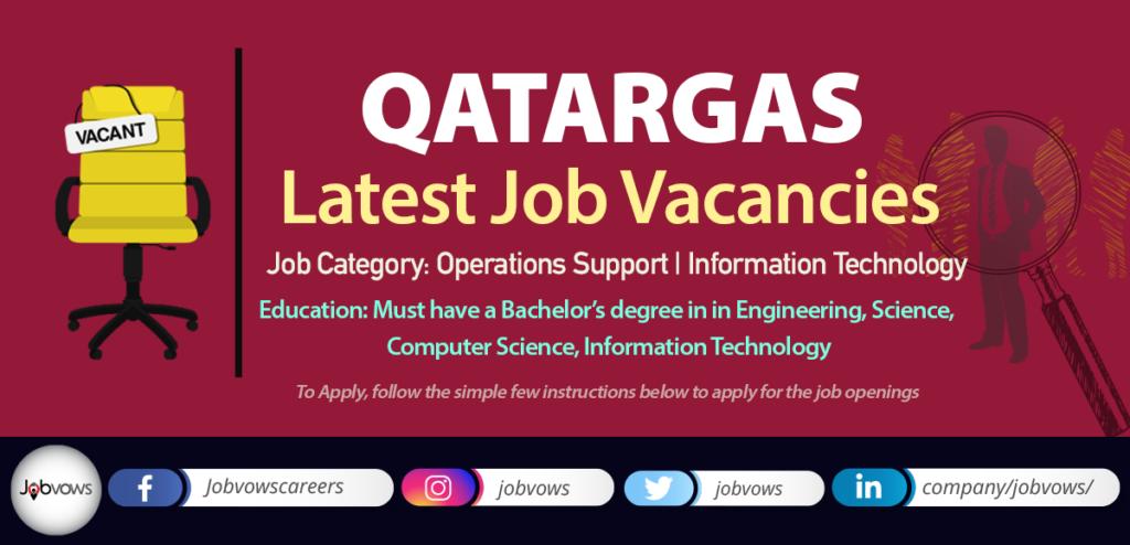 Qatargas Careers and Jobs 2020