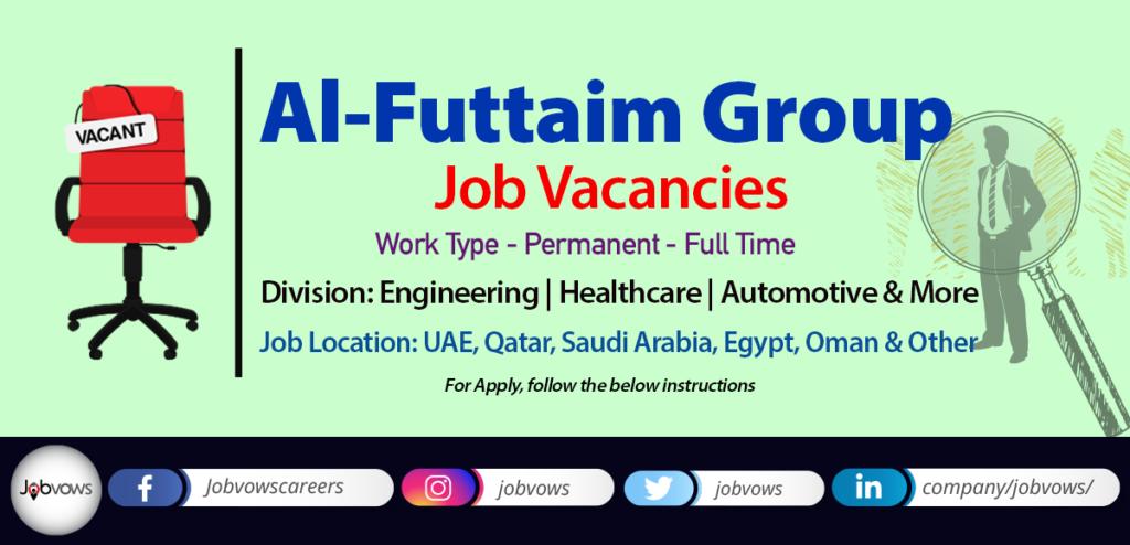 Al-Futtaim Jobs & Careers 2020