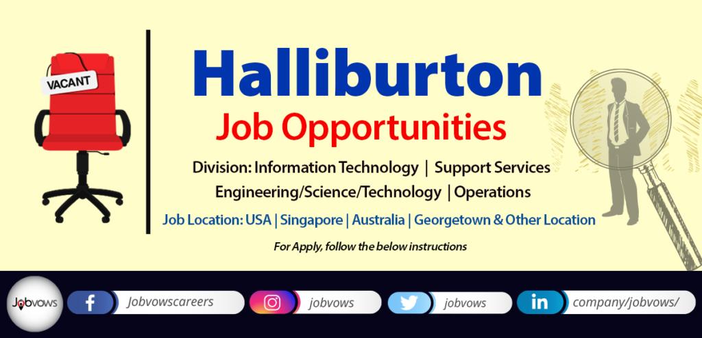 Halliburton Jobs and careers 2020