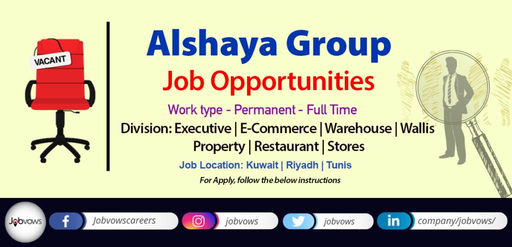 Alshaya group jobs and careers 2020