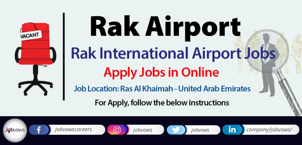 Rak International Airport Jobs and Careers