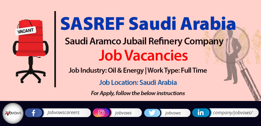 sasref saudi arabia jobs and careers