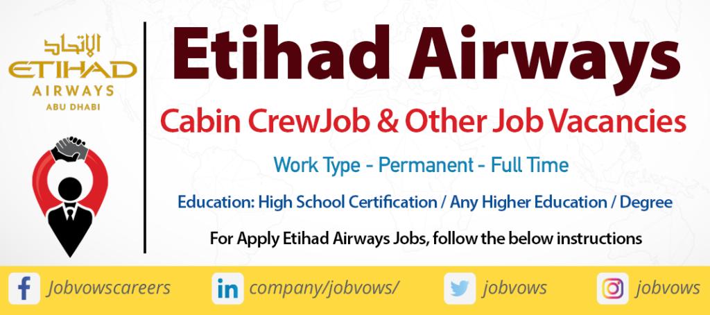 Etihad Airways Jobs and Careers 2020