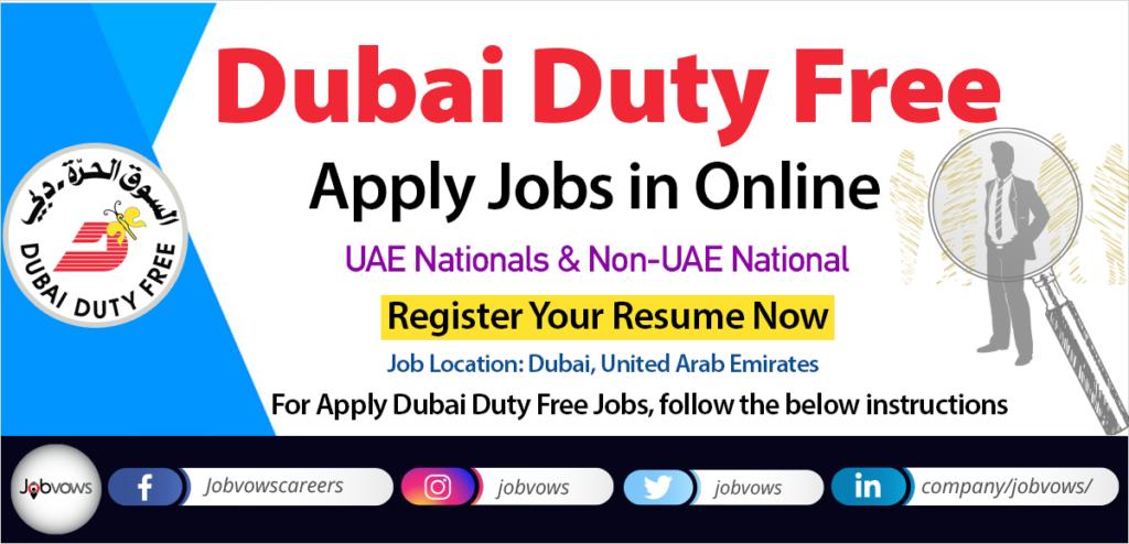 dubai duty free careers and jobs