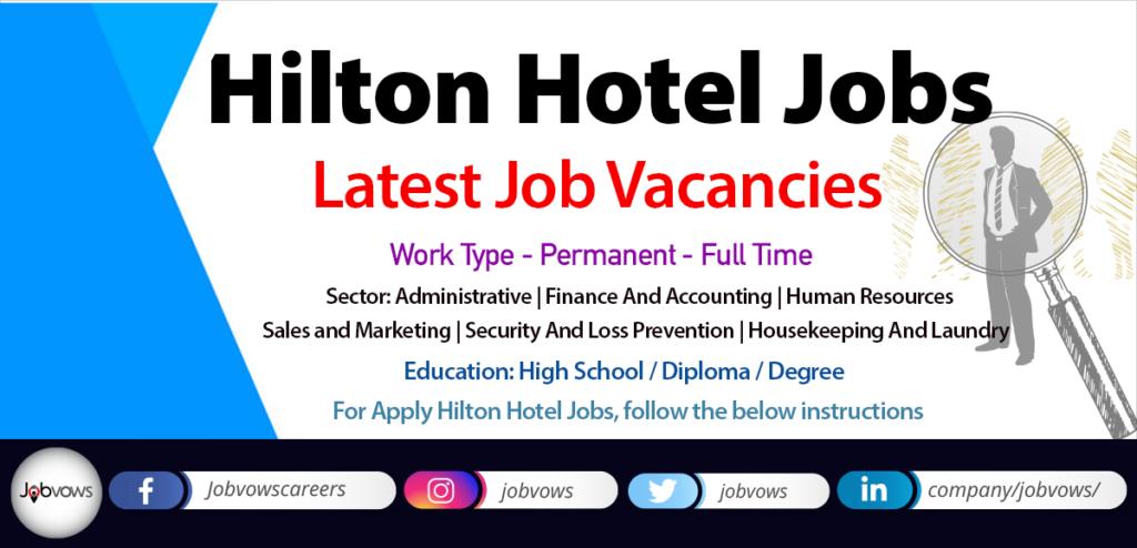 Hilton Careers in Dubai