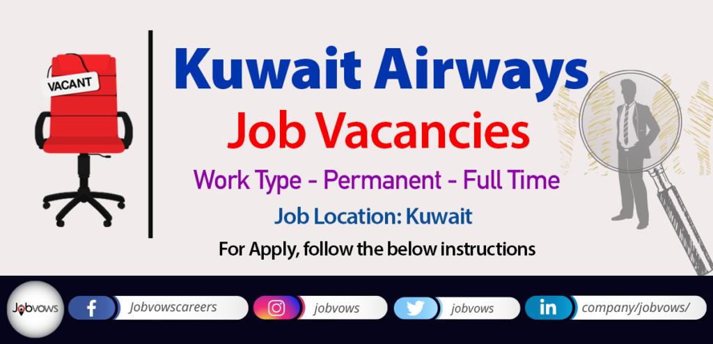 Kuwait Airways Careers and Jobs 2020
