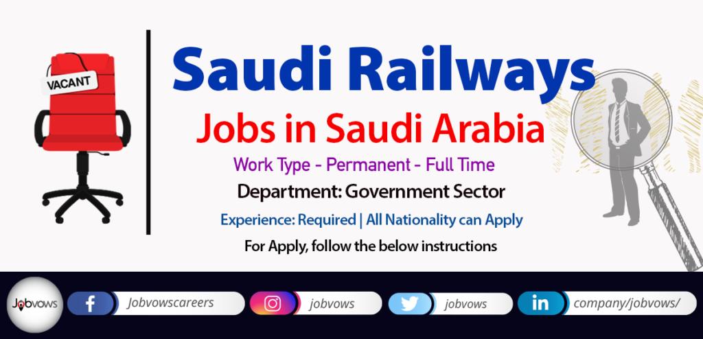 saudi railways jobs and careers
