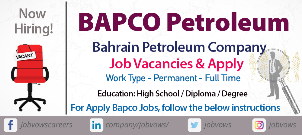 bapco careers and jobs