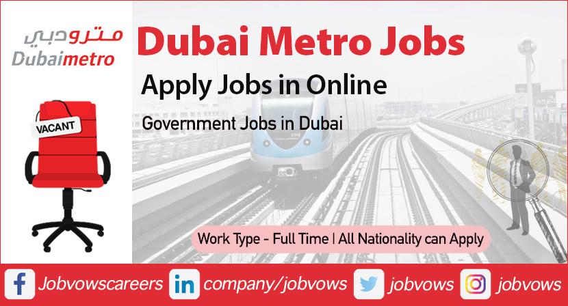 dubai metro careers and jobs