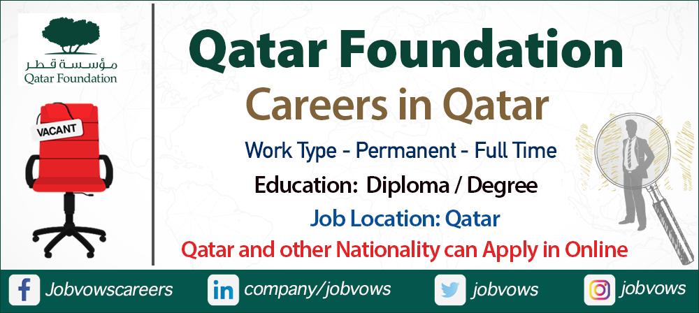 qatar foundation careers and jobs