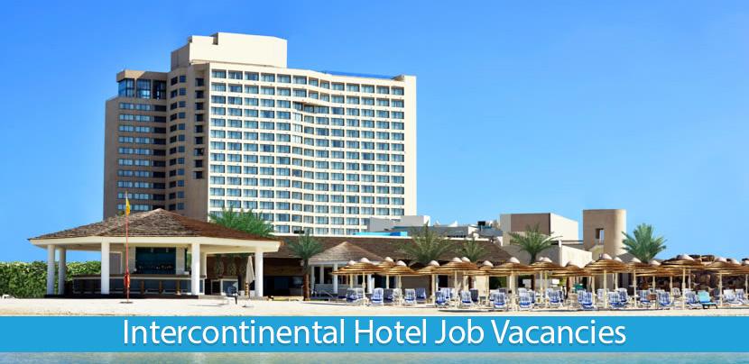 Intercontinental Hotel & Resorts Jobs