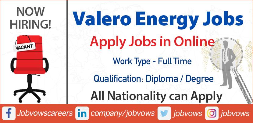 Valero Energy Careers and jobs
