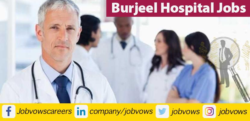 burjeel hospital jobs and careers 2021