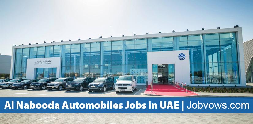 Al Nabooda Automobiles jobs and careers