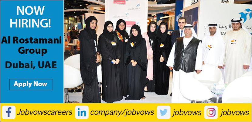 Careers at Al Rostamani Group