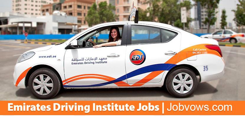 Emirates Driving Institute dubai jobs