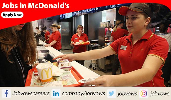 McDonald's careers and jobs