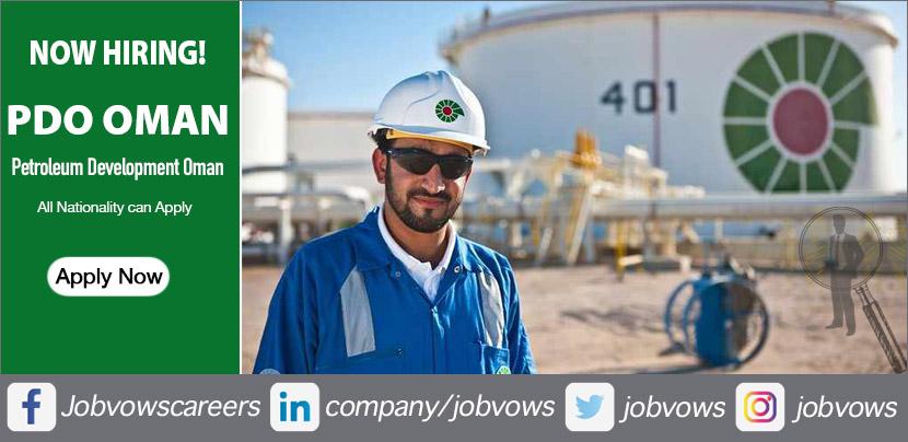 PDO Oman Jobs and Careers