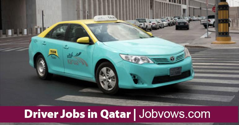 driver jobs in qatar 2021
