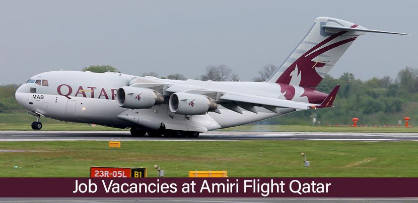 Jobs at Amiri Flight Qatar