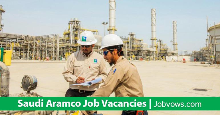 Jobs in Saudi Aramco